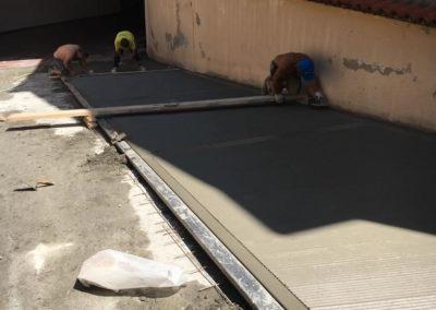 costruzione rampa