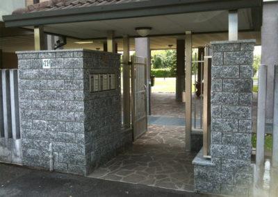 realizzazione ingresso